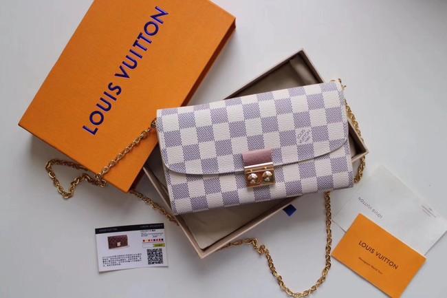 Louis Vuitton Original Damier Azur Canvas CROISETTE N61273