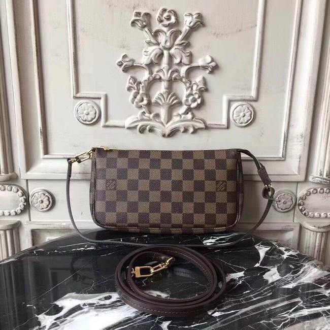 Louis Vuitton Original Damier Ebene Canvas POCHETTE ACCESSOIRES M40712