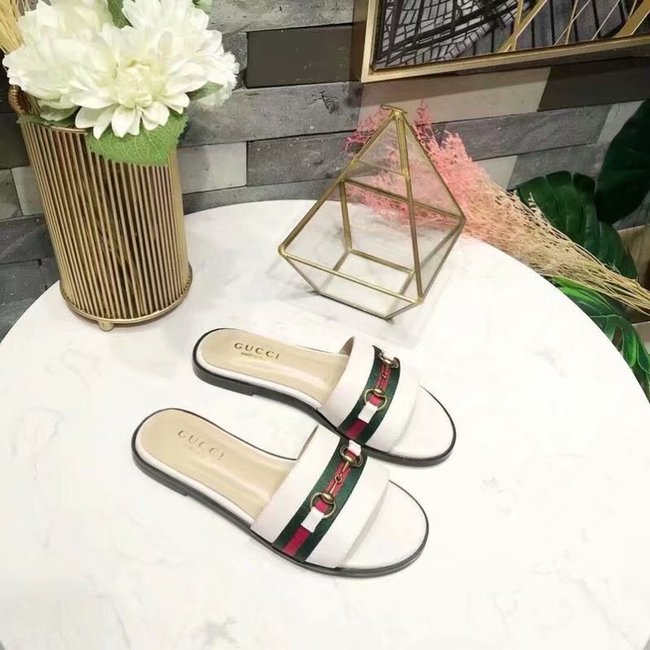 Gucci lady slippers GG1379LD white