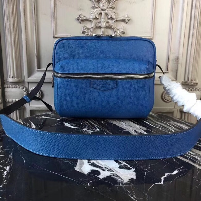 Louis Vuitton OUTDOOR MESSENGER PM M33437 blue