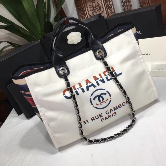 Chanel Shopping Bag 66941 White