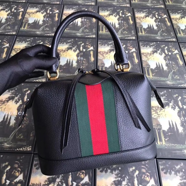Gucci GG Calf leather top quality tote bag 523433 black