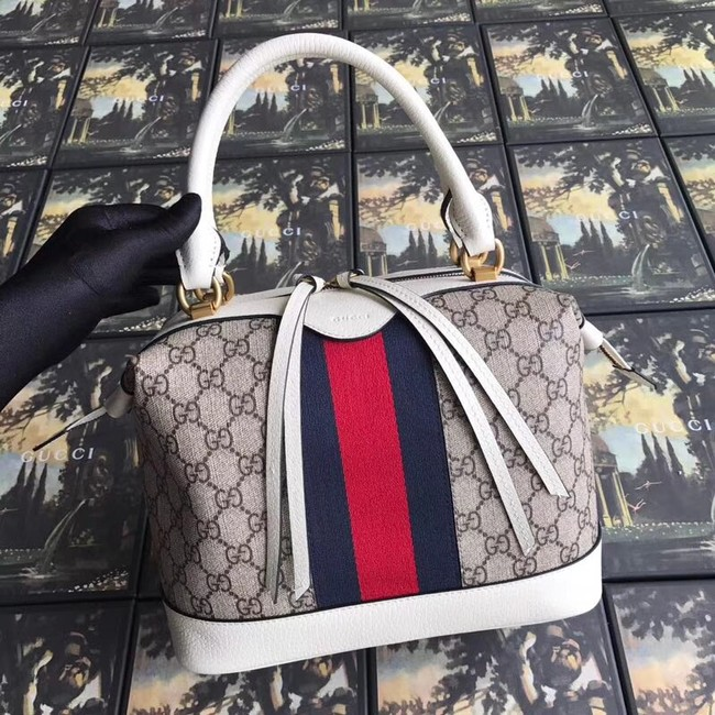 Gucci GG canvas top quality tote bag 523433 white