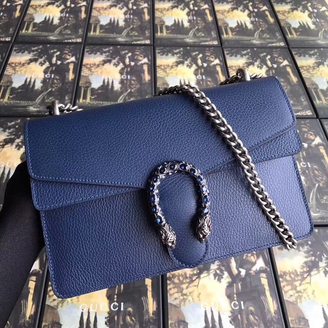 Gucci Dionysus small shoulder bag 400249 blue