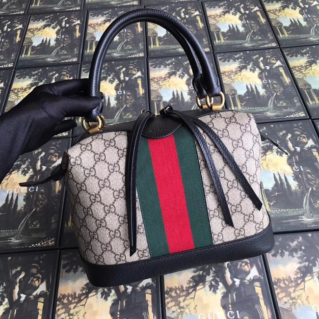 Gucci GG canvas top quality tote bag 523433 black