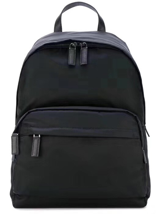 Prada nylon backpack 2VZ065 black