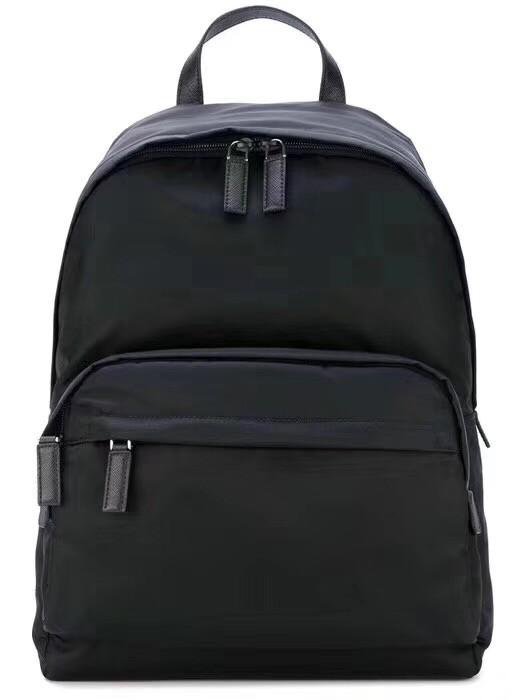 Prada nylon backpack 2VZ065 black
