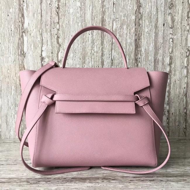 Celine Belt Bag Origina Leather Tote Bag A98311 pink