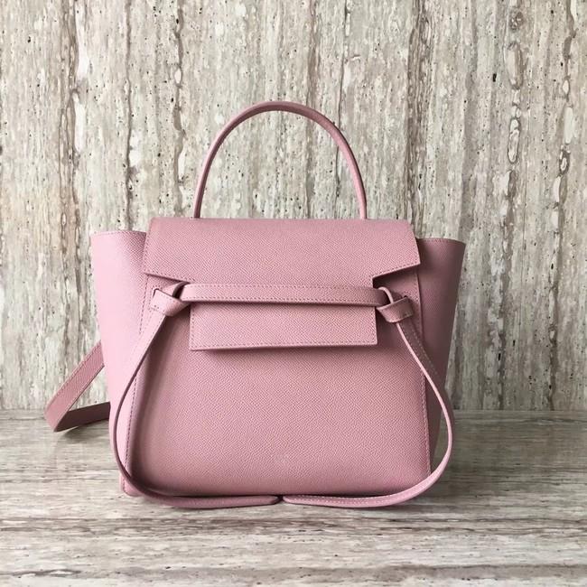 Celine mini Belt Bag Original Calf Leather A98310 pink