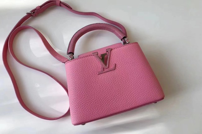 Louis Vuitton CAPUCINES MINI N94047 pink