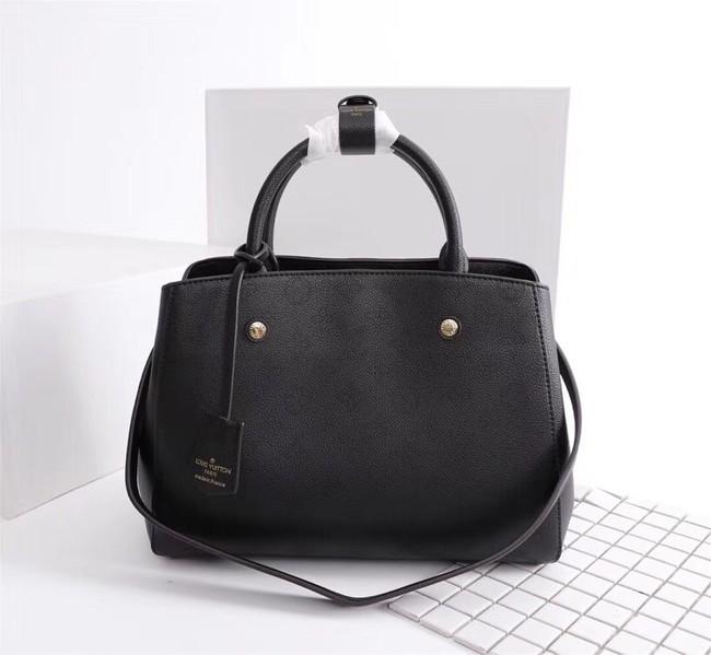 Louis Vuitton Mahina Leather 41046 black