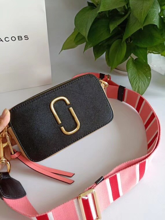MARC JACOBS Snapshot Saffiano leather cross-body bag 23783
