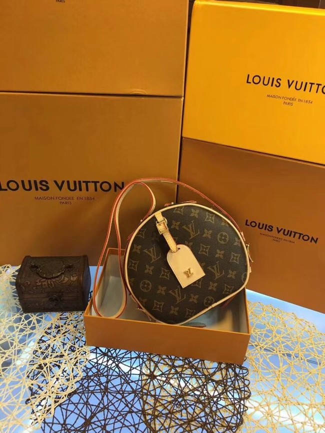 Louis vuitton monogram canvas BOITE CHAPEAU SOUPLE M52294-1