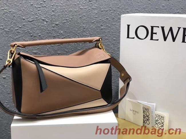 Loewe Puzzle Bag Original Leather B9124 apricot