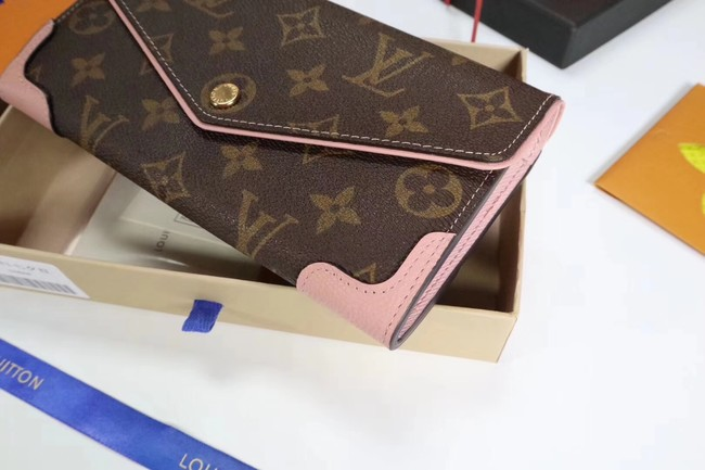 Louis Vuitton CAISSA WALLET N61184 pink
