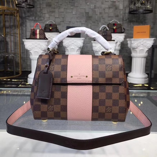 Louis Vuitton Original Damier Ebene Canvas BOND STREET BB N41071 pink