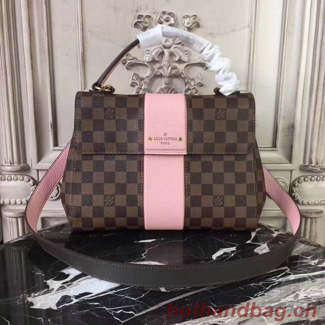 Louis Vuitton Original Damier Ebene Canvas BOND STREET M64416 pink