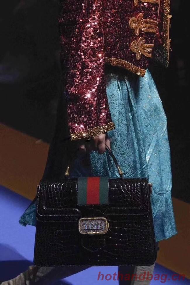 Gucci Medium top handle bag 513138 black