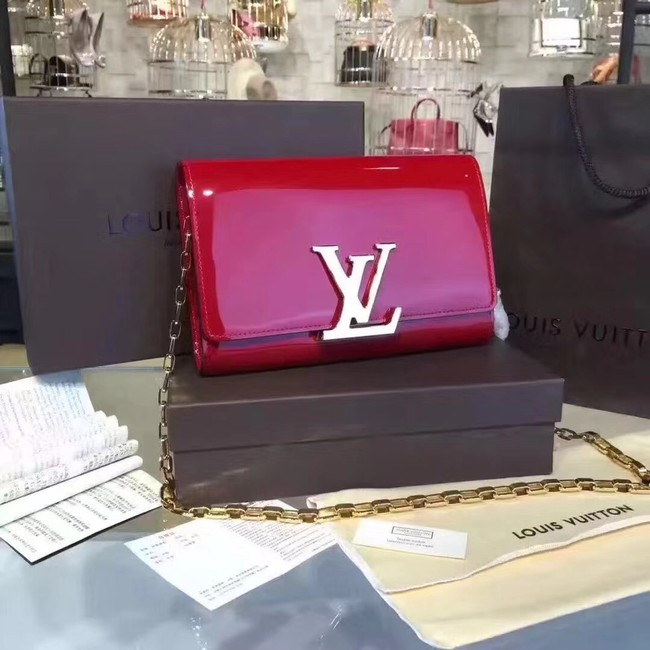 Louis Vuitton CHAIN LOUISE GM 94425 red