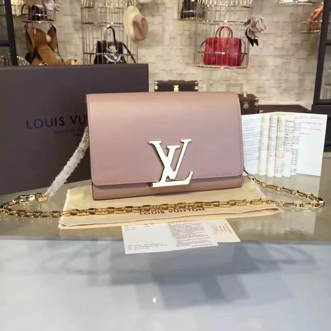 Louis Vuitton CHAIN LOUISE GM M51631 apricot