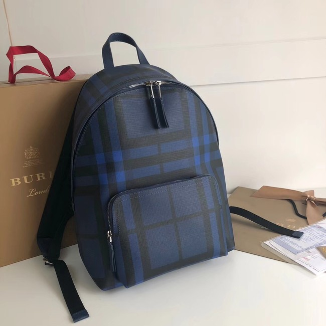 Burberry Large Backpack canvas BU41003 blue