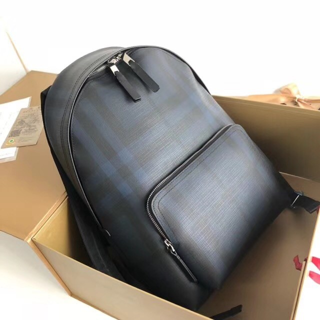 Burberry Large Backpack canvas BU41002 blue