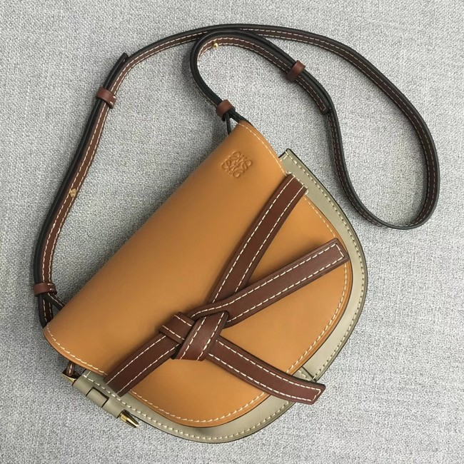 Loewe Crossbody Bags Original Leather 8088 yellow
