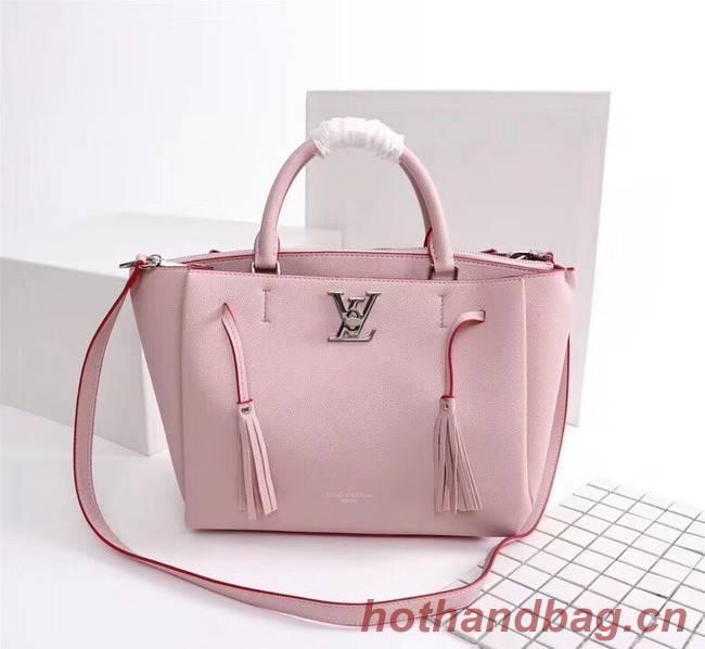 Louis vuitton LOCKMETO M54569 pink