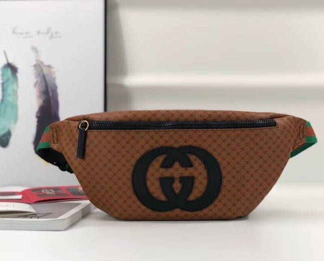 Gucci-Dapper Dan original belt bag 536416 brown