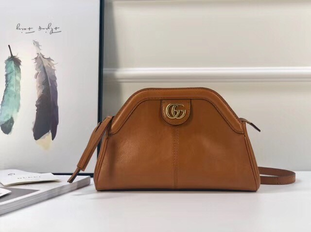 Gucci RE BELLE small shoulder bag 524620 brown
