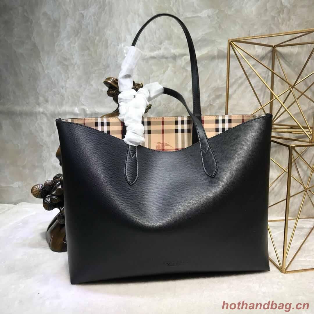 BurBerry Tote Shopping bags BU55778 black