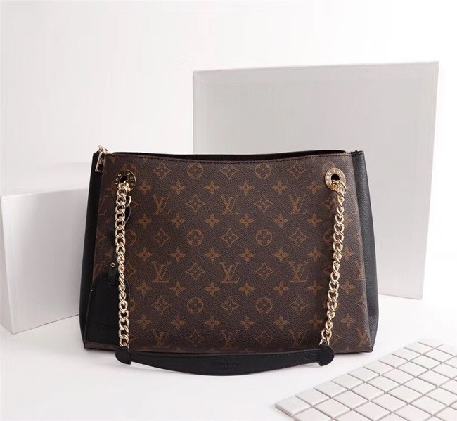 Louis vuitton monogram canvas SURENE MM M43755 black