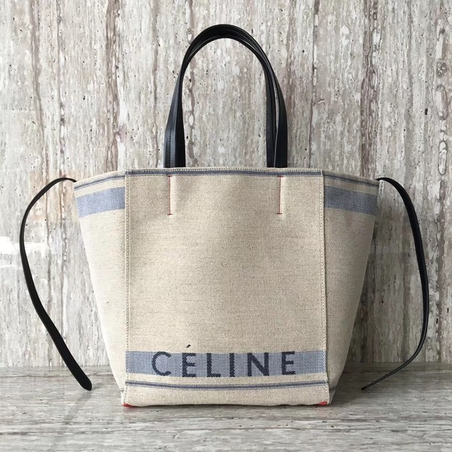 Celine MADE IN TOTE IN TEXTILE 2206 blue