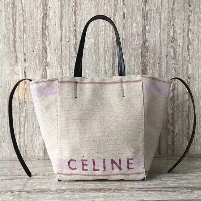 Celine MADE IN TOTE IN TEXTILE 2206 pink