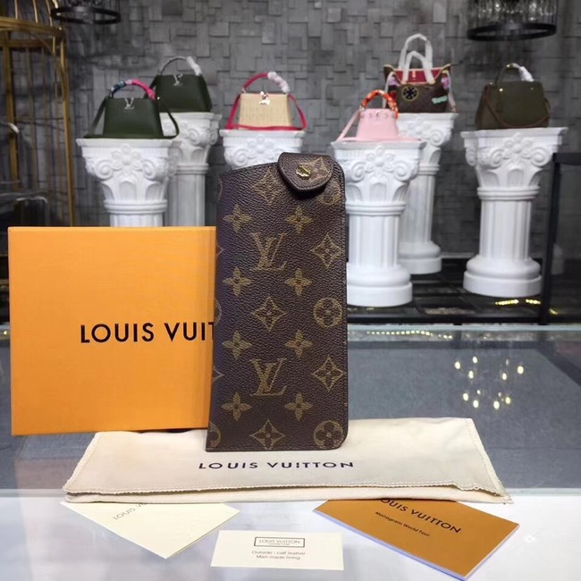 Louis Vuitton Monogram Canvas Glasses case 00284