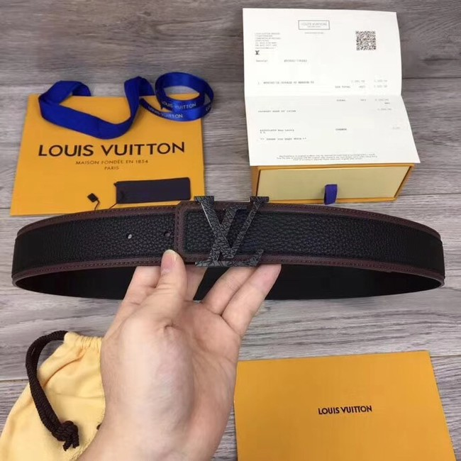 Louis Vuitton INITIALES 40MM BELT M0030 black