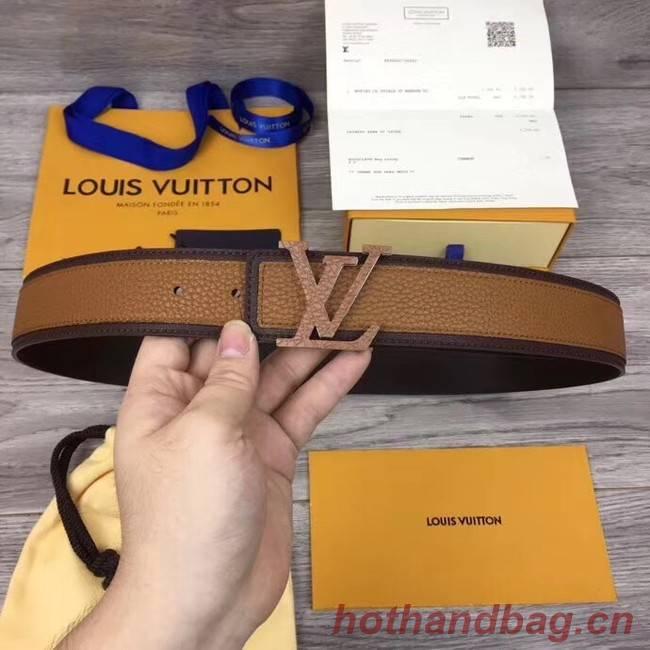 Louis Vuitton INITIALES 40MM BELT M0030 brown