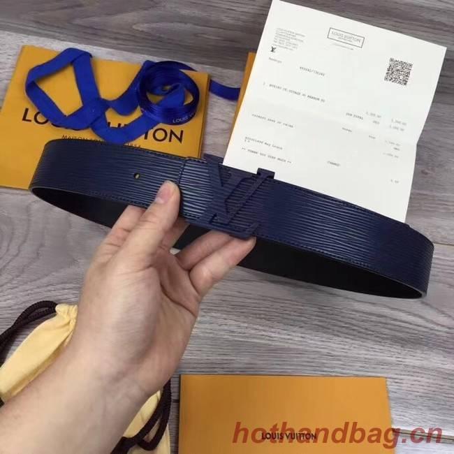Louis Vuitton INITIALES 40MM BELT M0035S dark blue