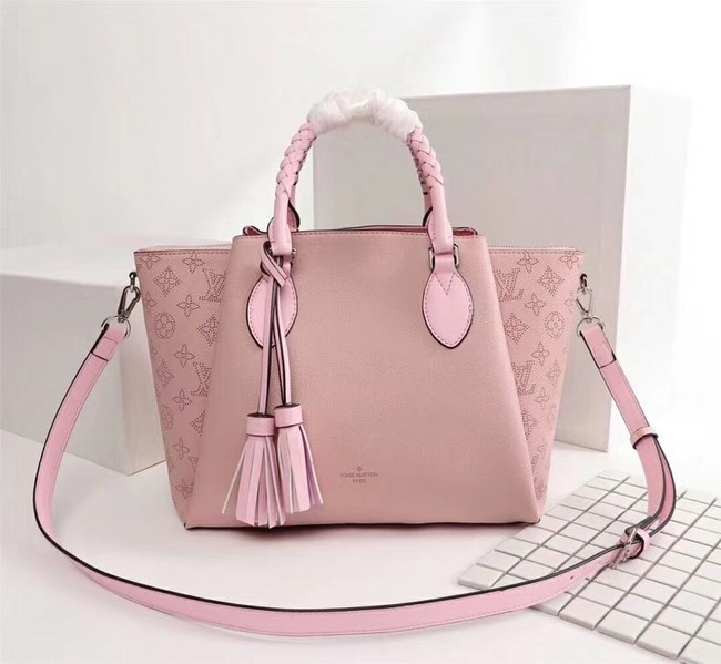 Louis Vuitton Mahina Leather HAUMEA M55030 pink