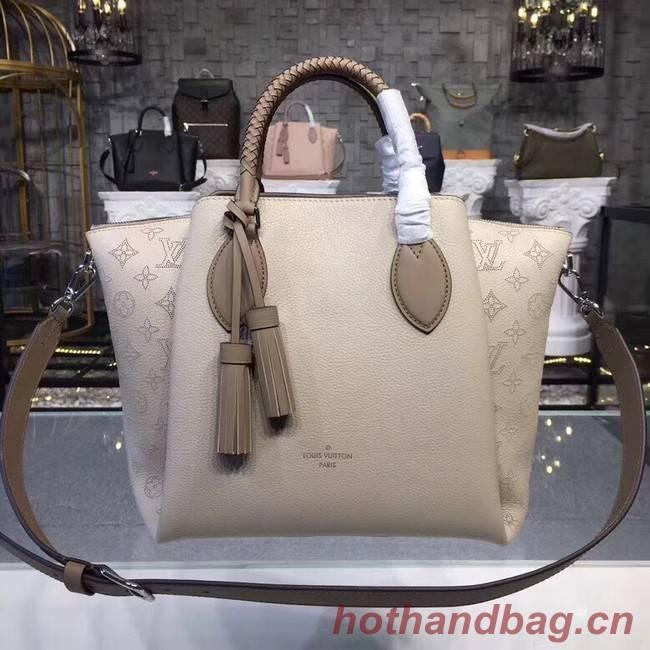 Louis Vuitton Original Mahina Leather HAUMEA M55029 grey