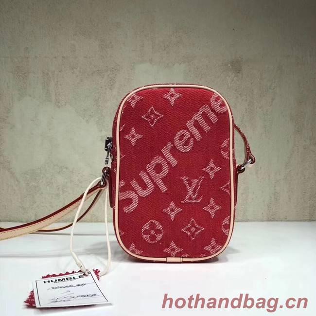 Louis Vuitton Denim M53434 red