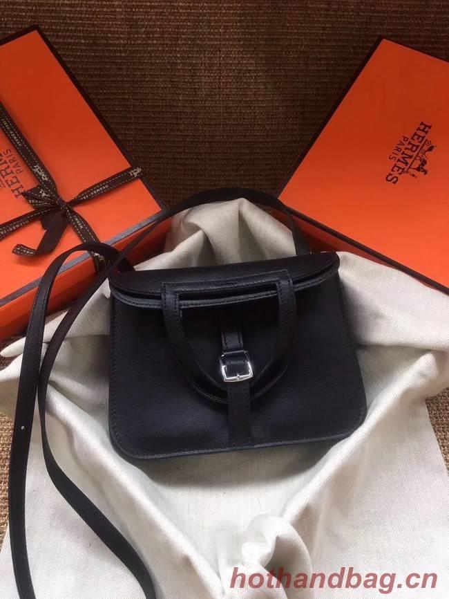 Hermes Original Halzan mini bag H069523 black