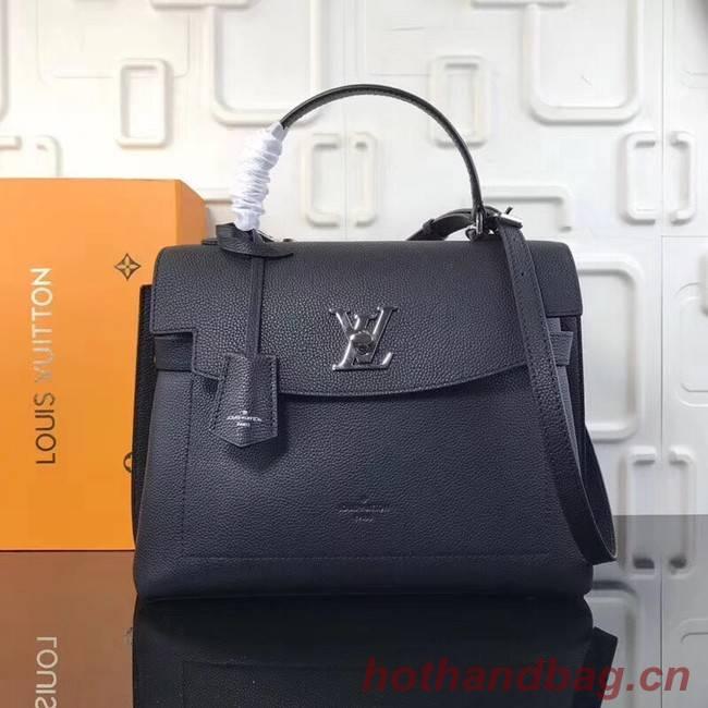 Louis Vuitton original LOCKME EVER M51395 black