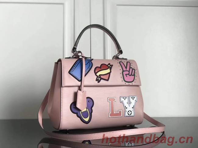 Louis Vuitton original Epi Leather CLUNY BB M52484 pink