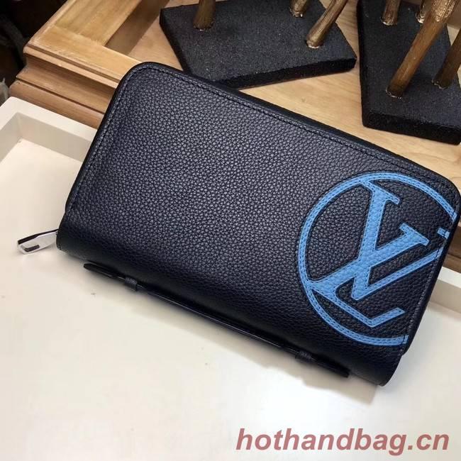 Louis Vuitton ZIPPY BRAZZA WALLET M41503 Black