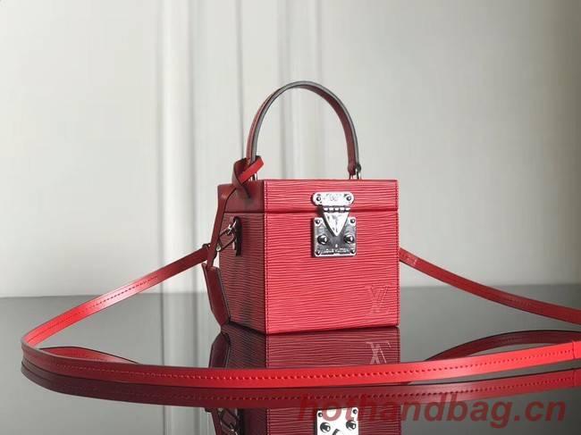 Louis Vuitton original Epi Leather BLEECKER BOX M52466 red
