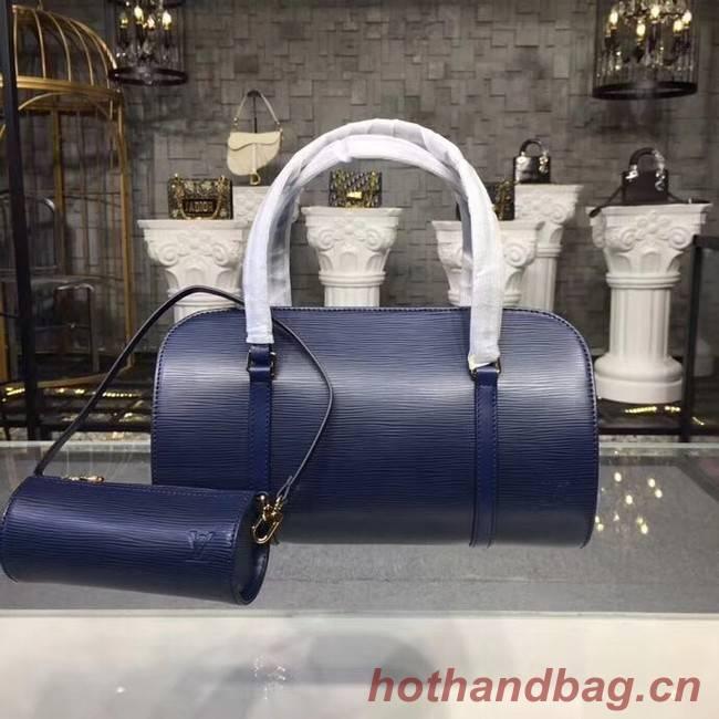 Louis Vuitton original Epi Leather M52222 dark blue
