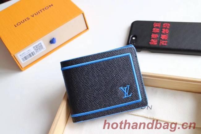 Louis Vuitton MULTIPLE WALLET M60895 black