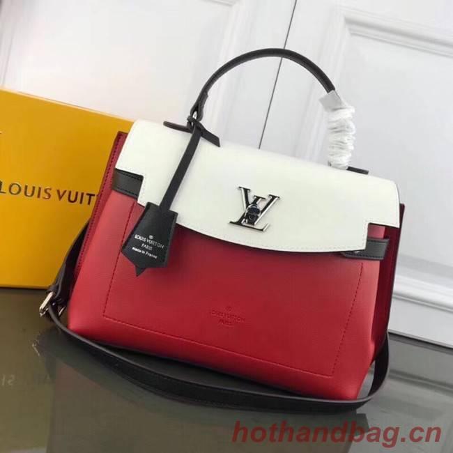 Louis Vuitton LOCKME EVER M51395 red&white