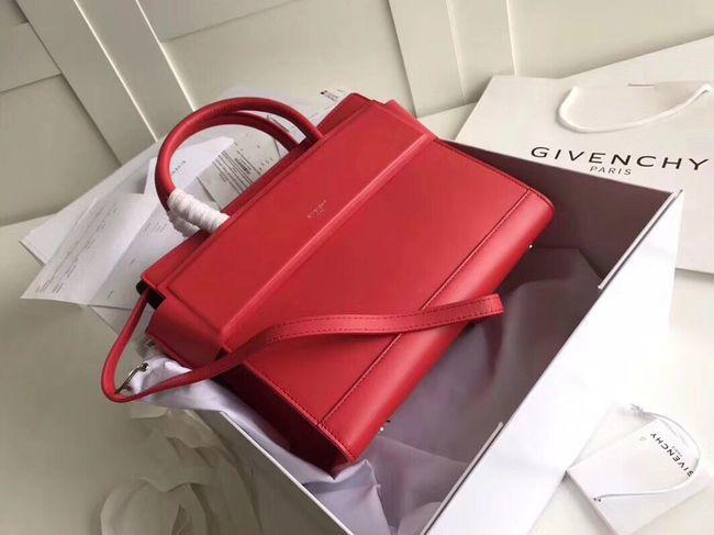 GIVENCHY Horizon leather shoulder bag 95828 red